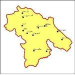 شیپ-فایل-شهرهای-استان-کهگیلویه-و-بویراحمد-به-صورت-نقطه-ای