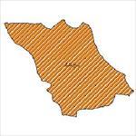 شیپ-فایل-محدوده-سیاسی-شهرستان-باغملک-(واقع-در-استان-خوزستان)