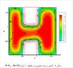 تحقیق-درس-cfd-با-موضوع-حل-عددی-جریان-تراکم-ناپذیر-درون-کانال-با-مقطع-h-شکل