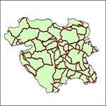 شیپ-فایل-جاده-های-ارتباطی-استان-کردستان