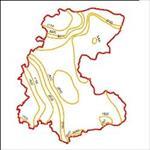 نقشه-ی-منحنی-های-هم-تبخیر-استان-لرستان
