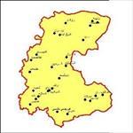 شیپ-فایل-شهرهای-استان-مرکزی-به-صورت-نقطه-ای
