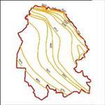 نقشه-ی-منحنی-های-هم-تبخیر-استان-خوزستان