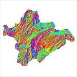 نقشه-ی-رستری-جهت-شیب-شهرستان-چاراویماق-(واقع-در-استان-آذربایجان-شرقی)