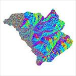 نقشه-ی-رستری-جهت-شیب-شهرستان-ملکان-(واقع-در-استان-آذربایجان-شرقی)