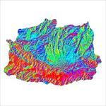 نقشه-ی-رستری-جهت-شیب-شهرستان-سراب-(واقع-در-استان-آذربایجان-شرقی)