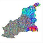 نقشه-ی-رستری-جهت-شیب-شهرستان-بناب-(واقع-در-استان-آذربایجان-شرقی)