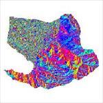 نقشه-ی-رستری-جهت-شیب-شهرستان-آذرشهر-(واقع-در-استان-آذربایجان-شرقی)