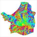 نقشه-ی-رستری-جهت-شیب-شهرستان-اشنویه-(واقع-در-استان-آذربایجان-غربی)