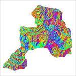 نقشه-ی-رستری-جهت-شیب-شهرستان-بوکان-(واقع-در-استان-آذربایجان-غربی)