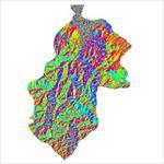 نقشه-ی-رستری-جهت-شیب-شهرستان-مهاباد-(واقع-در-استان-آذربایجان-غربی)
