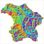 نقشه-ی-رستری-جهت-شیب-شهرستان-پیرانشهر-(واقع-در-استان-آذربایجان-غربی)