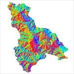 نقشه-ی-رستری-جهت-شیب-شهرستان-چالدران-(واقع-در-استان-آذربایجان-غربی)