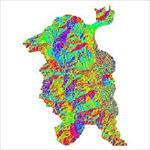 نقشه-ی-رستری-جهت-شیب-شهرستان-ارومیه-(واقع-در-استان-آذربایجان-غربی)