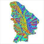نقشه-ی-رستری-جهت-شیب-شهرستان-سلماس-(واقع-در-استان-آذربایجان-غربی)