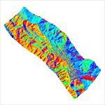 نقشه-ی-رستری-جهت-شیب-شهرستان-فارسان-(واقع-در-استان-چهارمحال-و-بختیاری)
