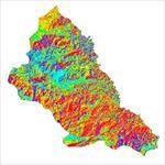 نقشه-ی-رستری-جهت-شیب-شهرستان-ماکو-(واقع-در-استان-آذربایجان-غربی)