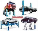 طراحی-بالابر-دو-ستونه-اتومبیل