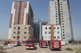 پاورپوینت بررسی چگونگی عملیات اطفاء حریق و امداد و نجات در ساختمان های بلندمرتبه