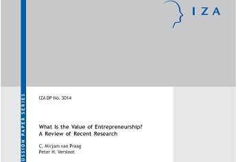 مقاله ترجمه شده با عنوان ارزش کارآفرینی در چیست؟ مروری بر تحقیقات اخیر