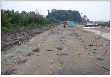 پاورپوینت بهسازی خاک: روش های حرارتی، انفجاری و الکترواسموزی
