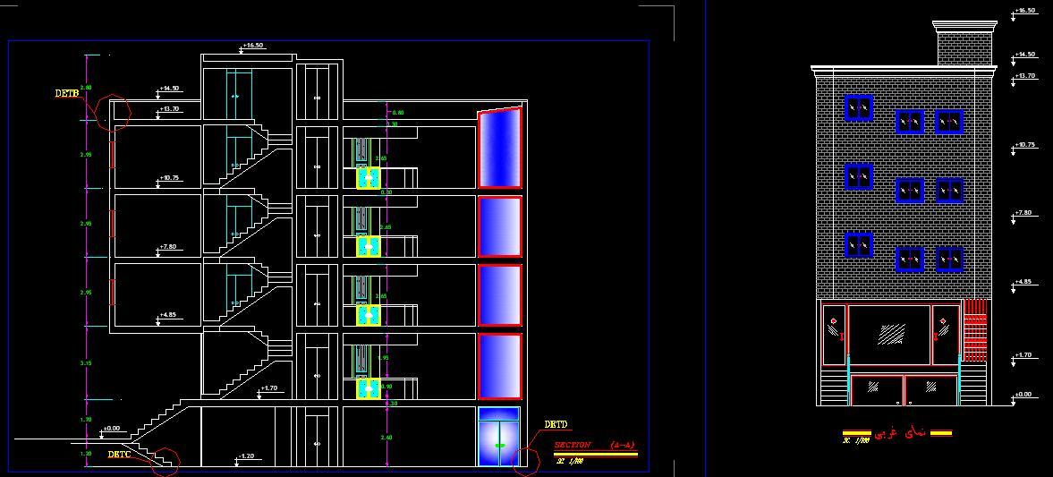 پروژه متره و برآورد ساختمان مسكوني 2