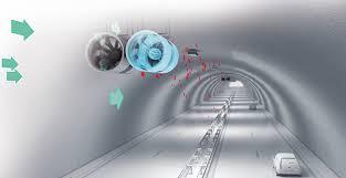 طرح تهويه تونل مترو با حفاري مكانيزه