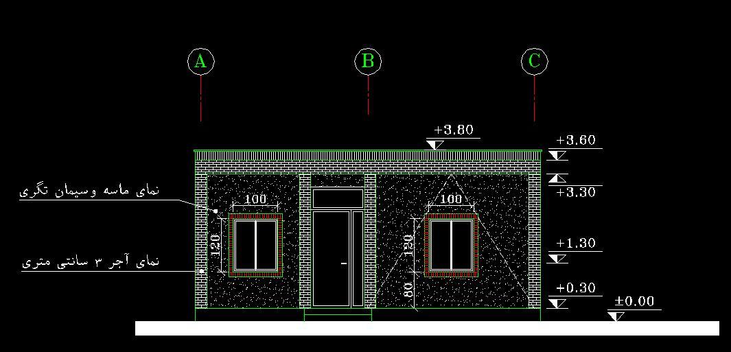 پروژه متره و برآورد ساختمان مسكوني 4
