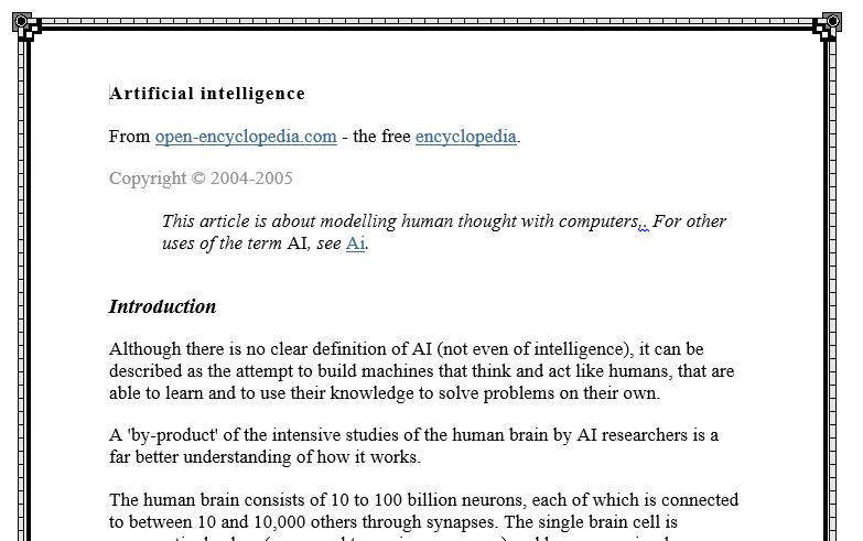 ترجمه مقاله با عنوان Artificial Intelligence