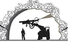 پاورپوینت مقایسه شاتکریت مسلح به الیاف فولادی و Thin Spray-on Liner