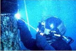 تحقیق جوشکاری زیر آب