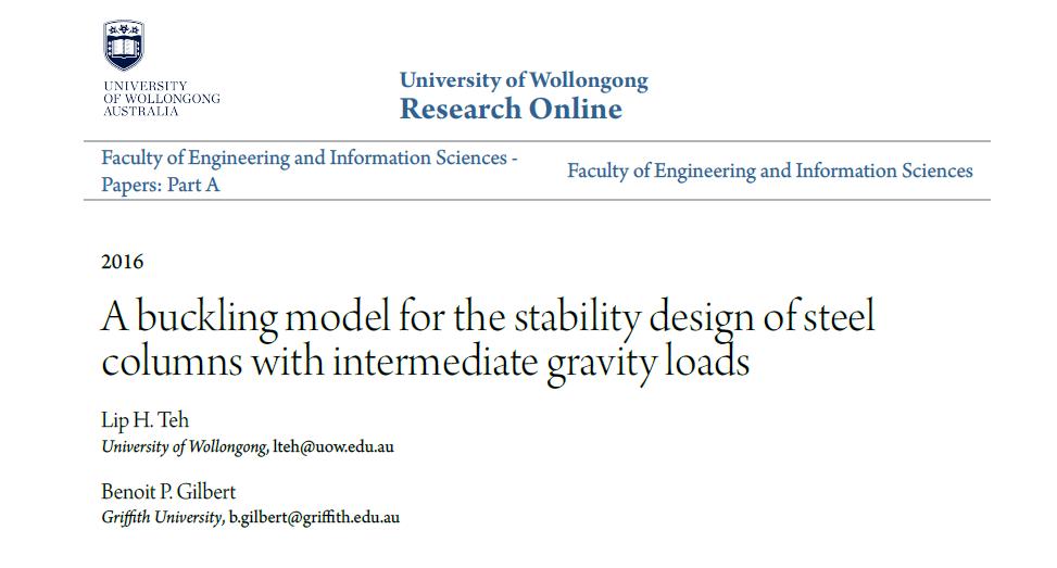 پاورپوینت مقایسه مدل کمانشی برای طراحی پایداری ستون های فولادی با ضوابط آیین نامه AISC