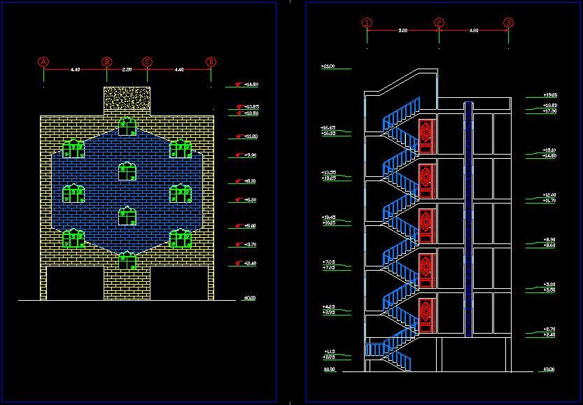 پروژه متره و برآورد ساختمان مسكوني 1