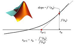 دانلود کد روش نیوتون- رافسون (روش مماسی) برای حل انواع معادلات غیر خطی در متلب
