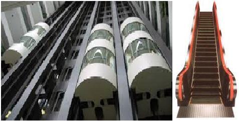 ایمنی آسانسورها و پله های برقی در برابر آتش سوزی