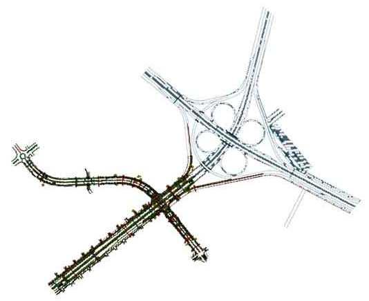 نقشه اتوکد پل صدر