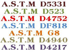 استاندارد ASTM مربوط به خطوط توليد لوله نفت ، گاز و پتروشيمي