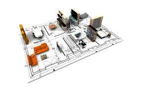 نمونه نقشه مکانیکال ساختمان اداری